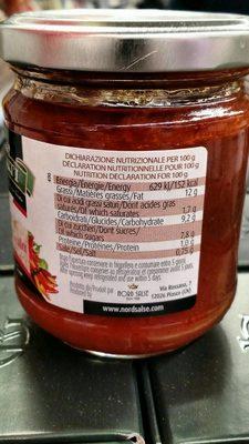 Sugo arrabiata - Informations nutritionnelles - fr