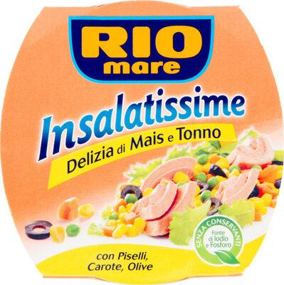 Insalatissime delizia di mais e tonno - Salade de maïs et thon pâle - Product - en