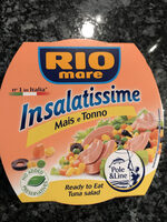 Salade Mais e Tonno 160 Gr - Product