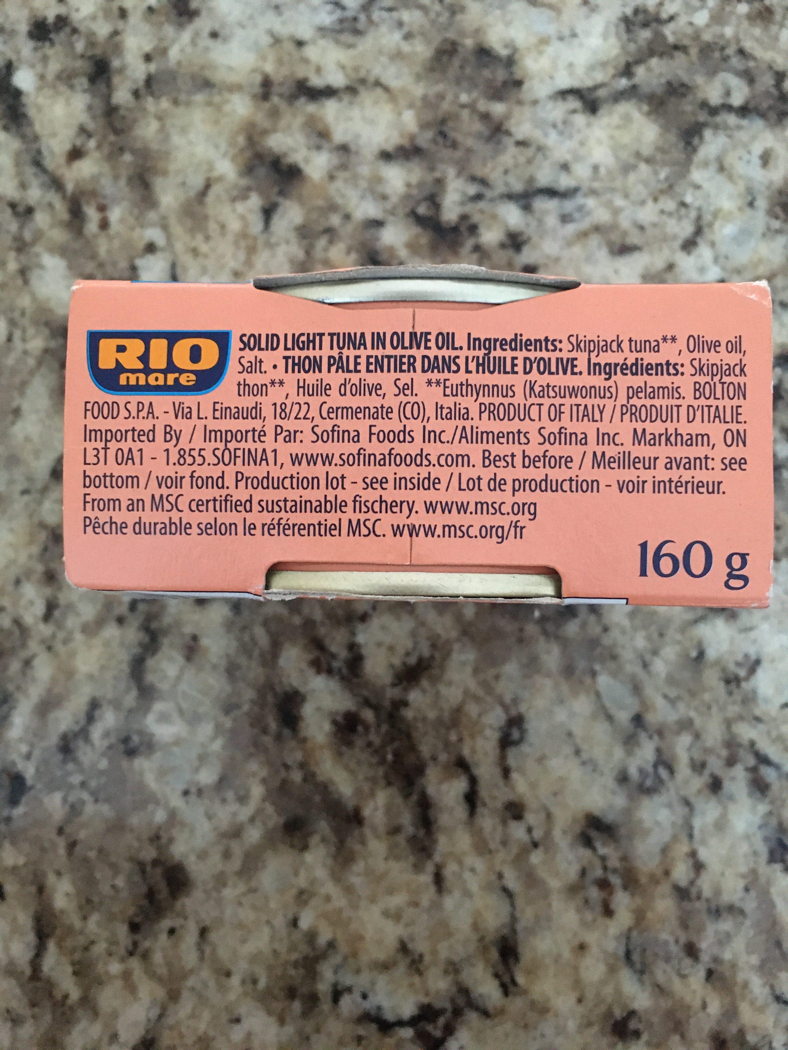Tuna in Olive Oil - Ingredienti - it
