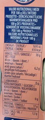 Thon a l'huile d'olive - Valori nutrizionali - nl
