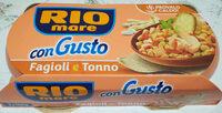 Riomare Congusto Fagioli Tonno GR. 160X2 - Product - it