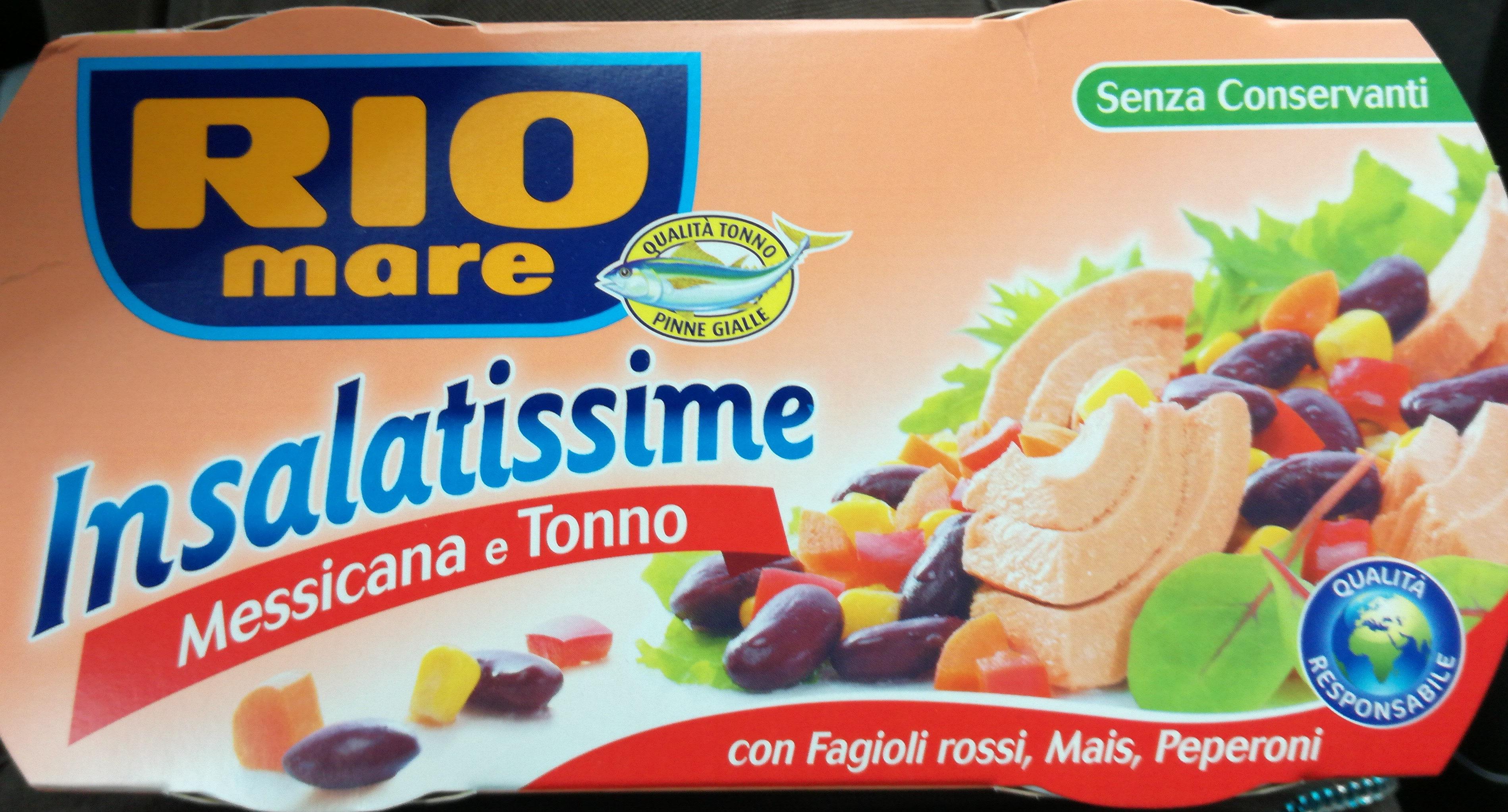 Insalatissime Messicana e Tonno - Produit