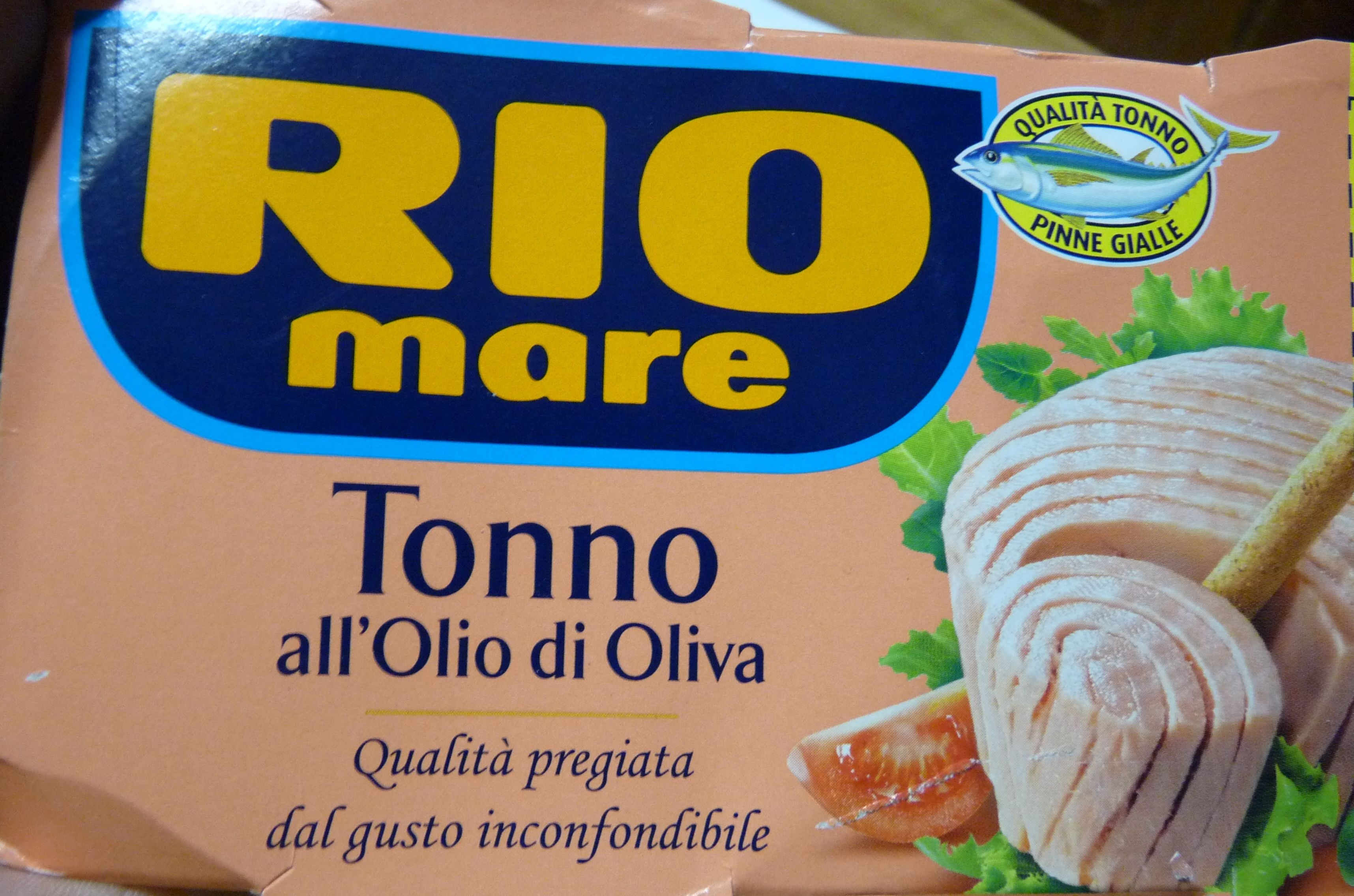 RIO MARE Tonno all'olio di oliva - Product