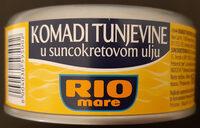 Komadi tunjevine u suncokretovom ulju - Производ - sr