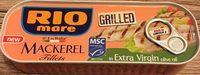 Mackerel fillets - extra virgin olive - Produit