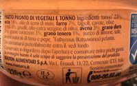Insalatissime 5 Cereali E Tonno - Ingrédients