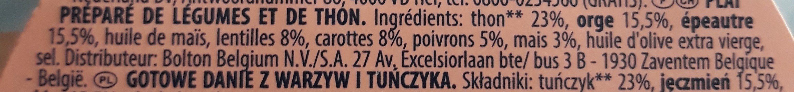 Salade toscans - Ingrediënten