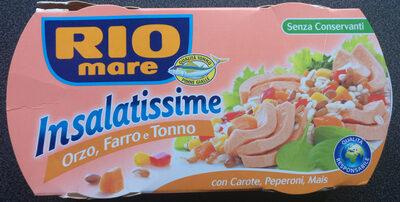 Insalatissime orzo farro tonno - Product - it