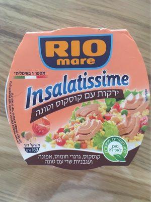 Insalatissime , thon  avec legumes et couscous - Produit