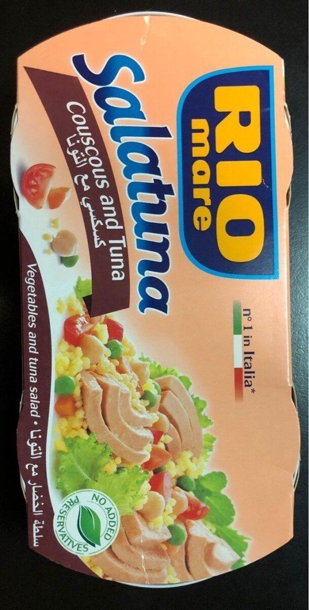 Rio Mare Salatuna Couscous and Tuna - Product - fr