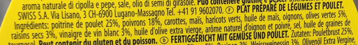Insalatissime chicken salad - Ingrediënten - fr
