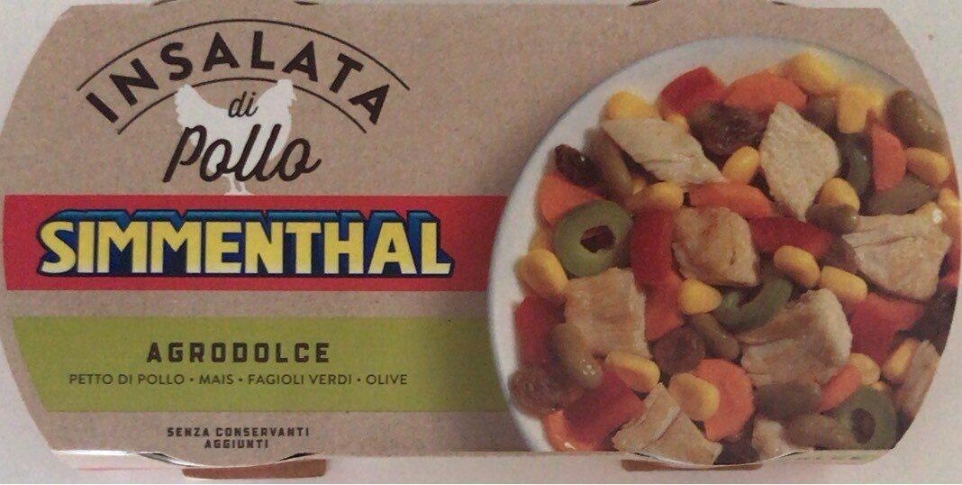 Insalata di pollo agrodolce - Prodotto - it