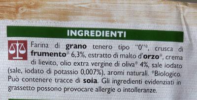 Fette biscottate integrali bio - Ingredients
