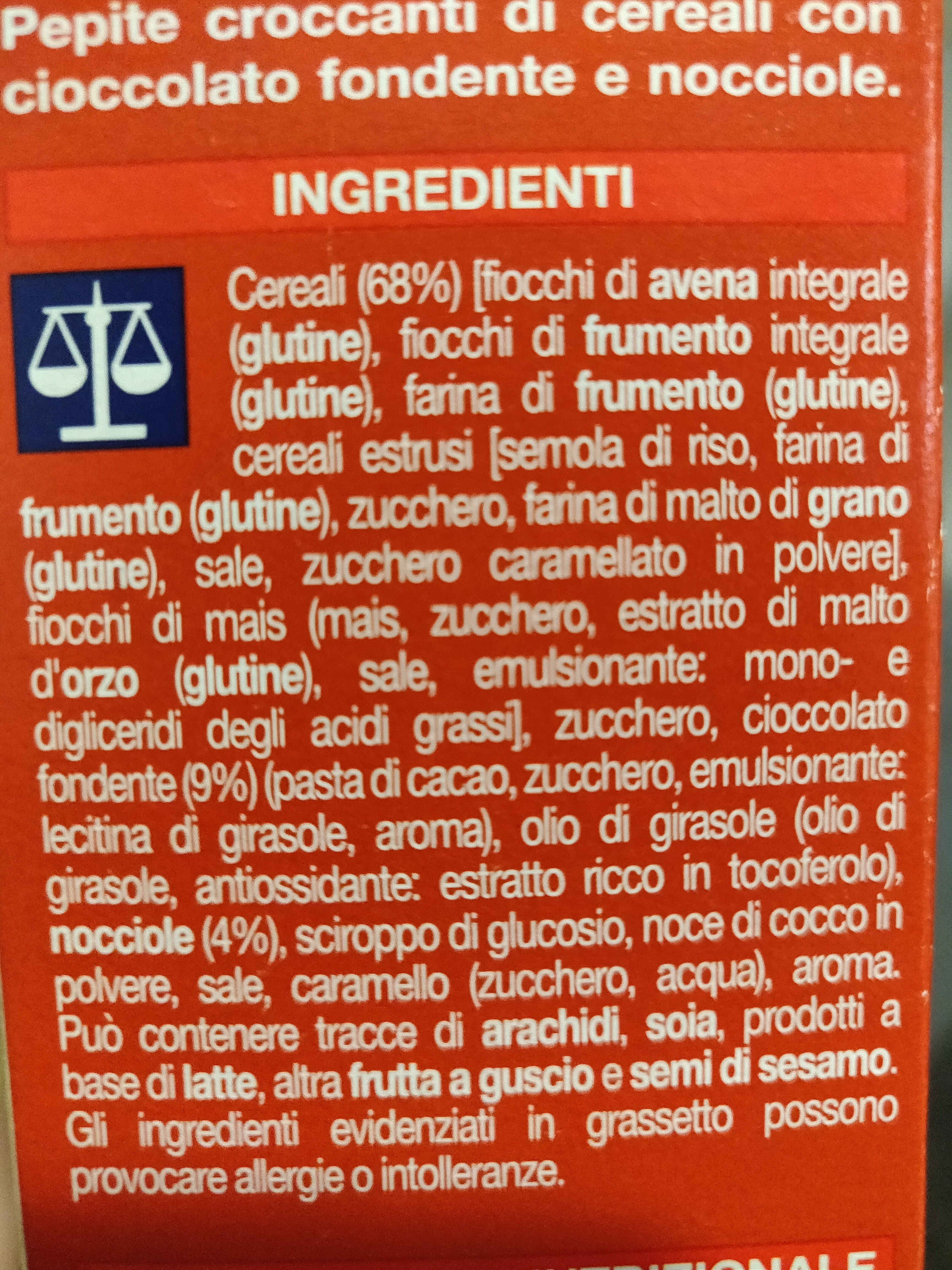 Cereali croccanti - Ingredients - it
