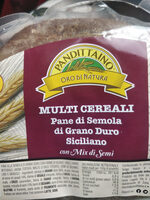 Multi cereali pane di semola di grano duro siciliano con mix di semi - Product - it