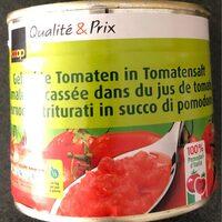 Tomate concassée dans du jus de tomate - Product - fr