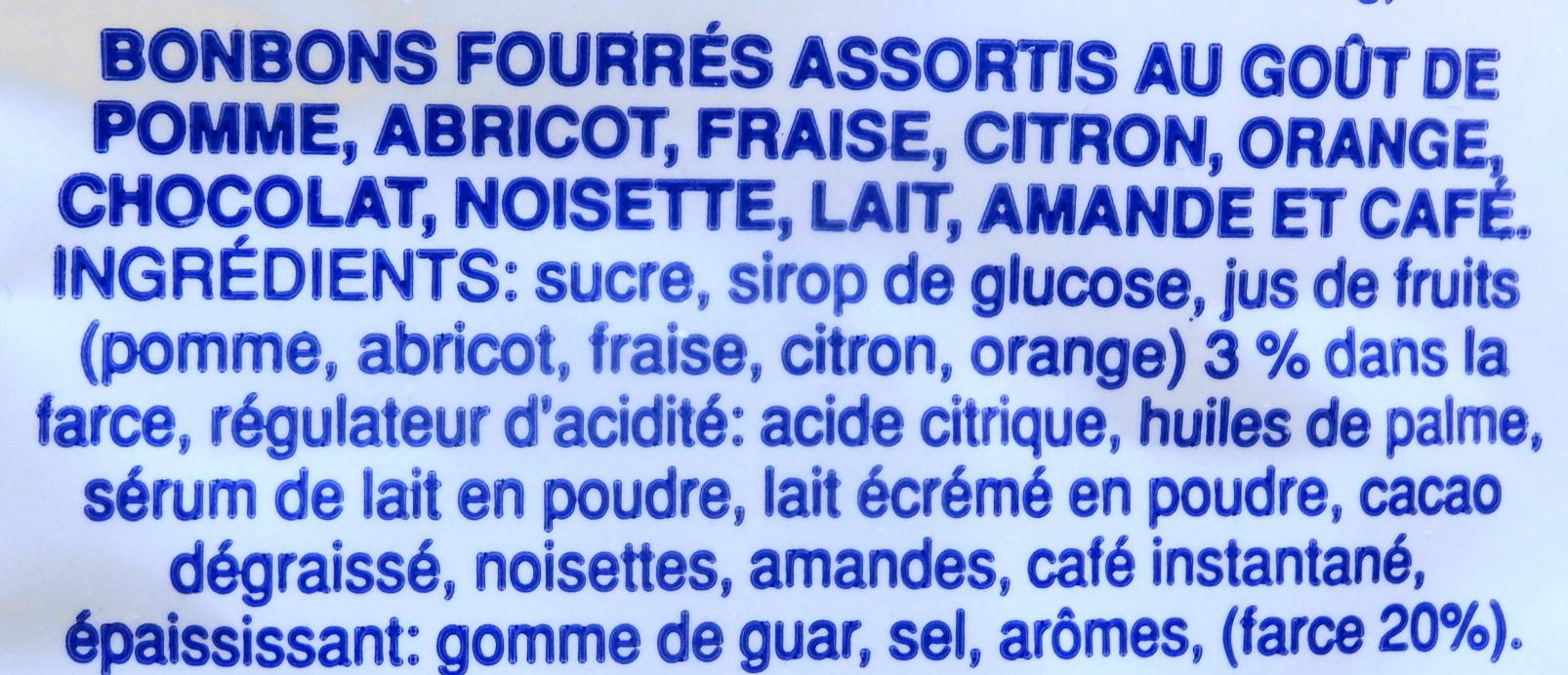 Assortite Ripiene - Ingredients - fr