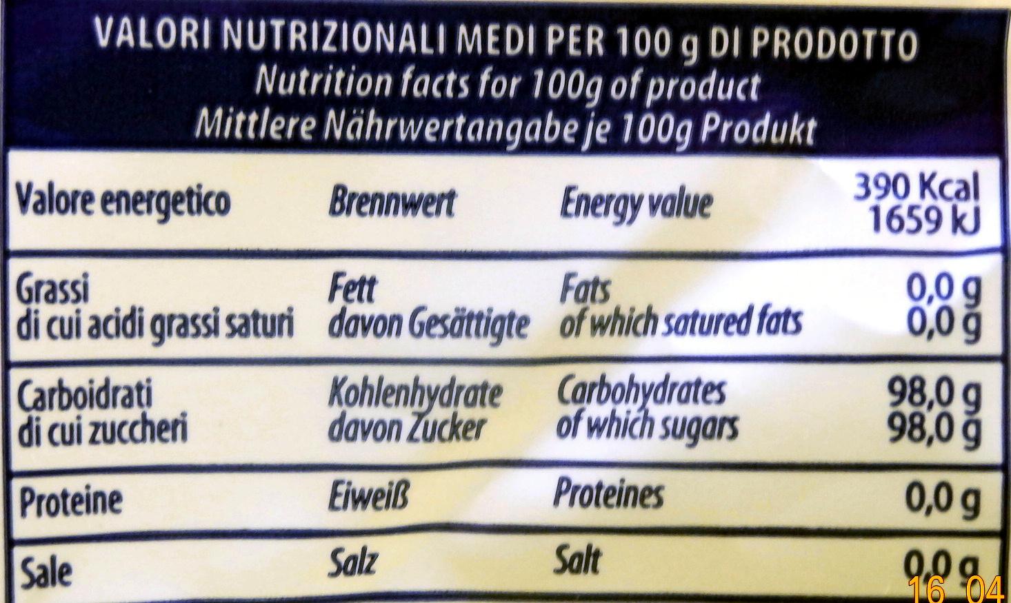 Assortite Ripiene - Nutrition facts - fr