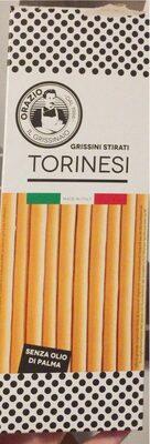 Grissini Stirati Torinesi - Produit - de