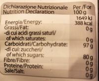 Caramelle ripiene alla mela rossa Cuneo - Informations nutritionnelles - it