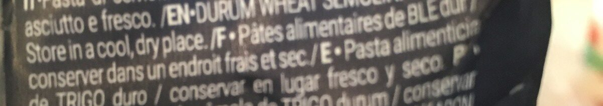 Linguine - Ingrediënten - fr