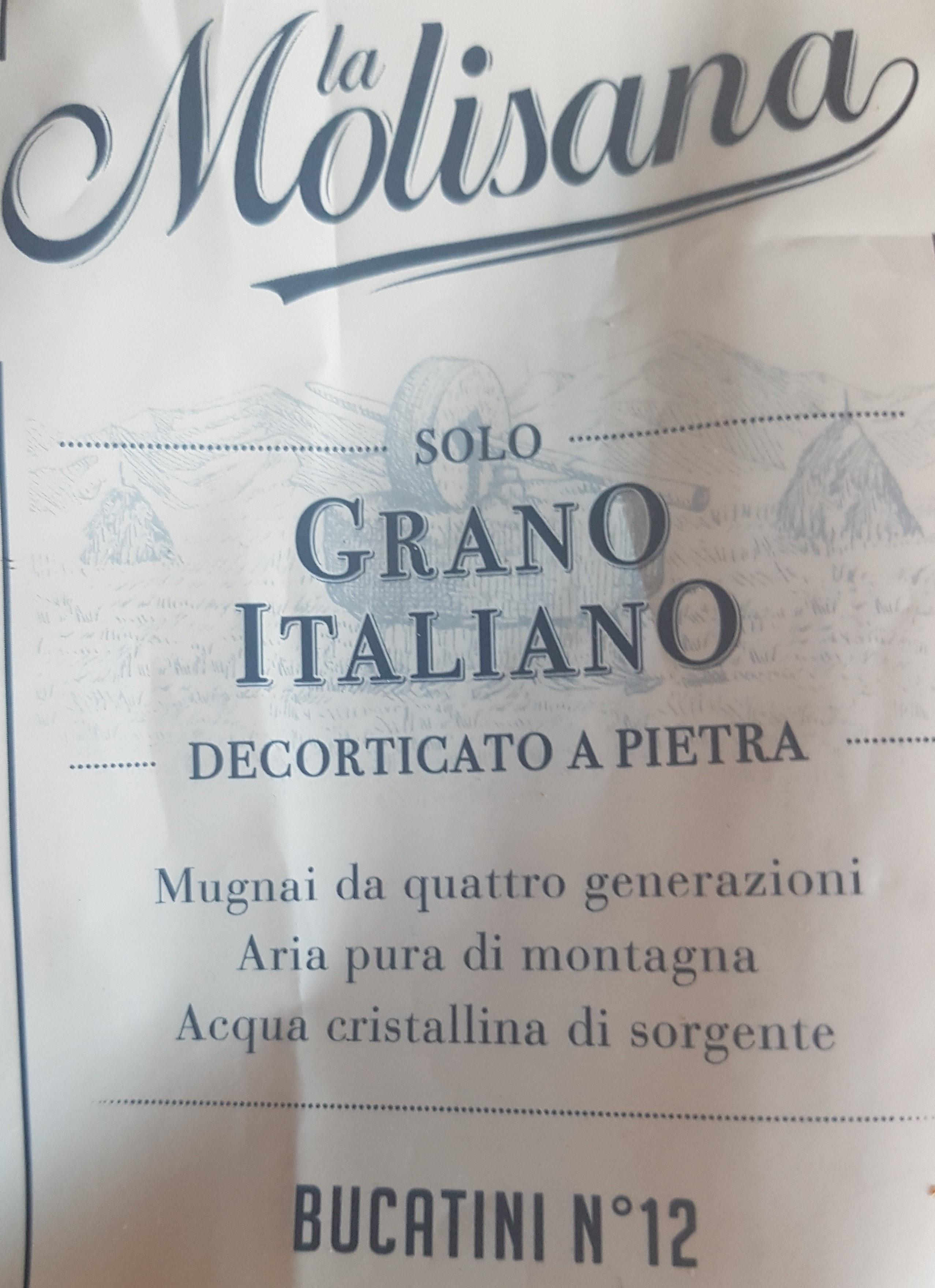Pâtes Bucatini - Product