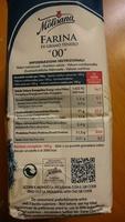 """""""oo"""" FARINA DI GRANO TENERO - Ingredients"""