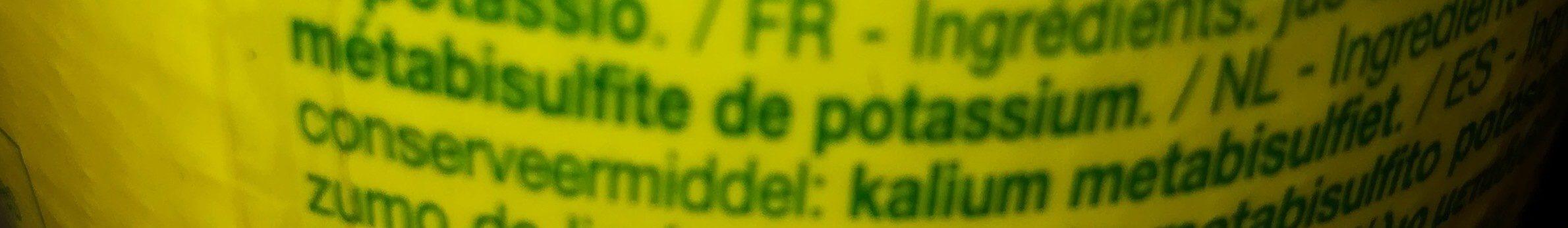 Succo di limone - Ingrediënten - fr