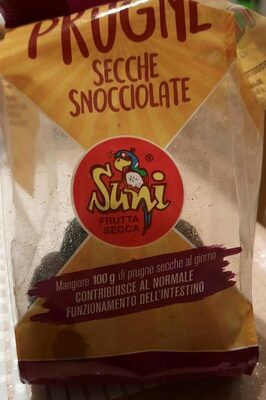 Prugne secche snocciolate Suni - Produit - it