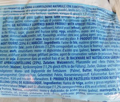 croissant albicocca - Ingrédients - fr