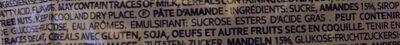 Mandorlat - Ingredients - fr