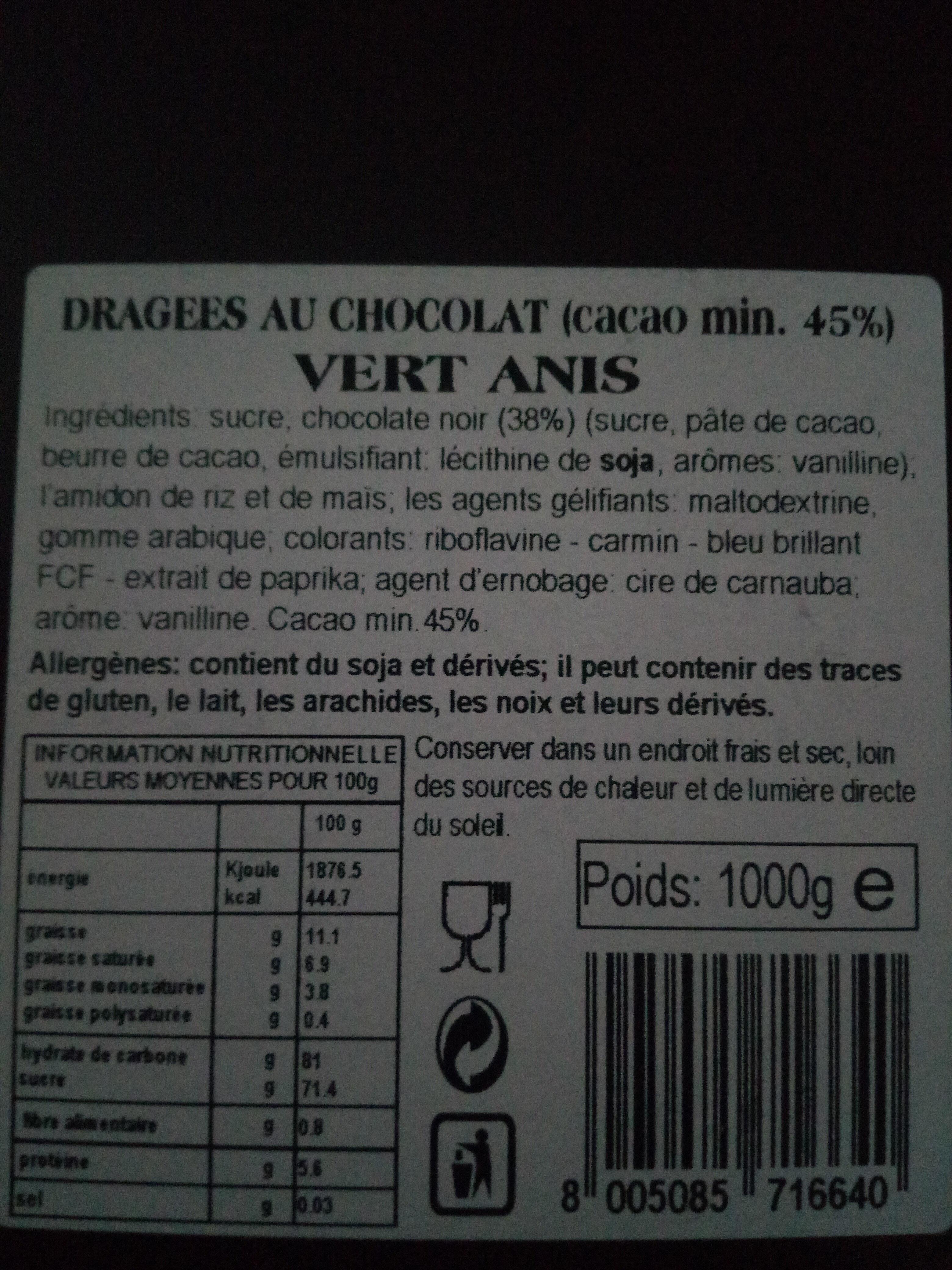 dragée d'amour - Ingredients