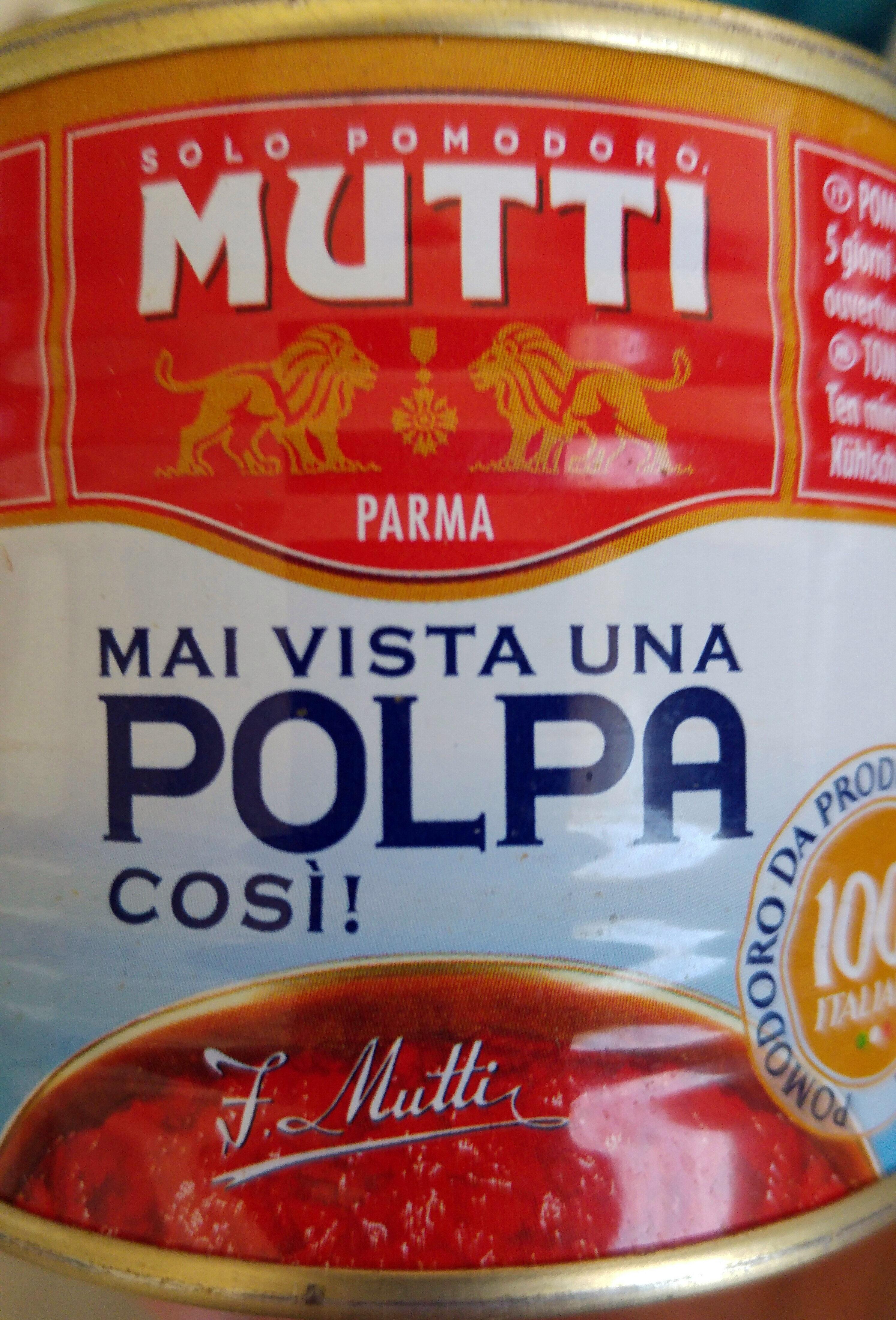 Polpa (stückige Tomaten), 2 x 210G - Produkt