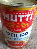 Mutti Pulpa Fina Tomate Ajo - Product - fr