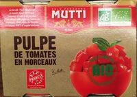 pillés de tomates en morceaux bio - 产品 - fr