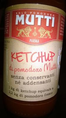 Mutti ketchup di pomodoro - Prodotto