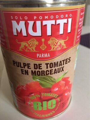 Pulpe de tomates en morceaux - Product - fr