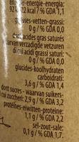 Tomates pelées bio - Nährwertangaben - fr