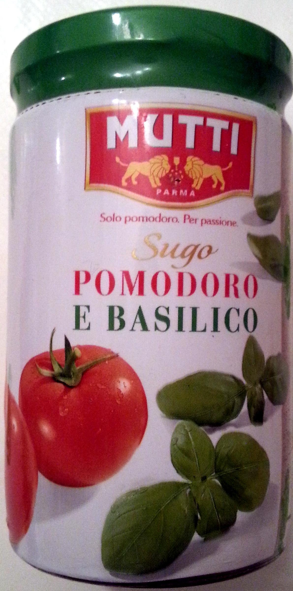 Sugo semplice con basilico - Produit - fr