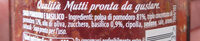 Sugo Semplice Con Basilico - Ingredients - it