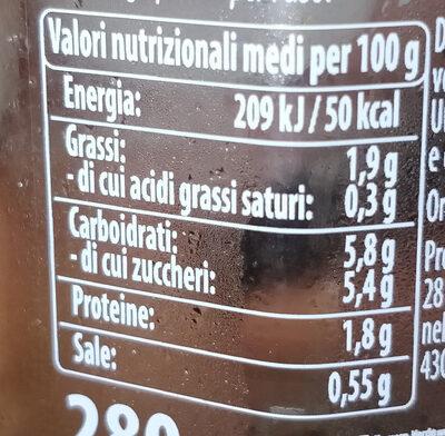 sugo semplice con peperoncino - Nutrition facts - it