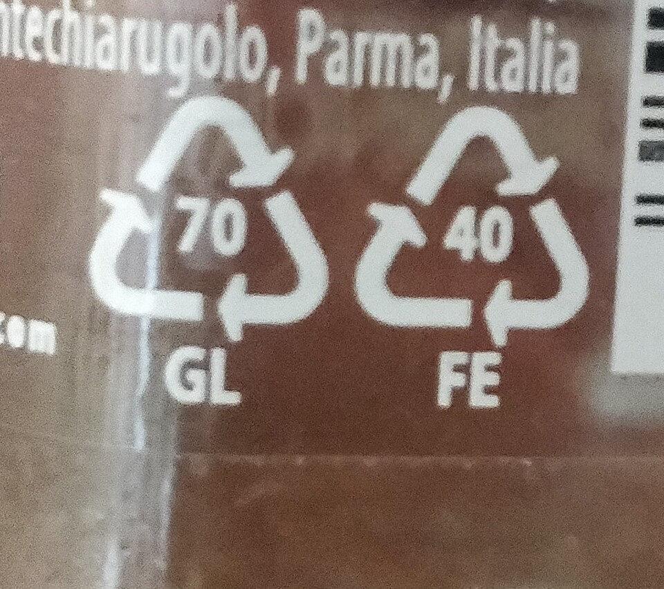 Mutti sugo semplice con peperoncino 280g - Recyclinginstructies en / of verpakkingsinformatie - it