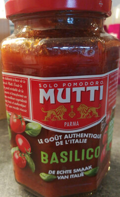 Solo Pomodoro Mutti basilico - Ingredients - fr