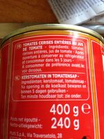 Tomates Cerises Mutti - Ingredients - en