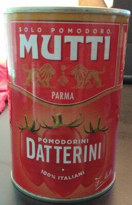 Datterini / Dadeltomater Mutti 400 GR. - Produit - fr