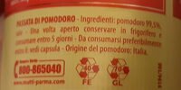 Passata di Pomodoro - Recycling instructions and/or packaging information - it