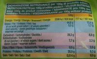 Pistaches Tostados without salt Bio - Informations nutritionnelles