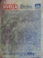 Divella Fettuccine 90 500GRS - Ingrédients