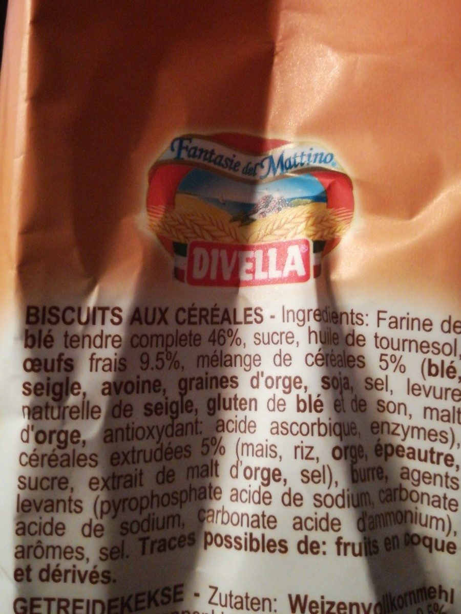 Divella Ottimini Croccanti 7 Cer. gr. 400 - Ingredients - it